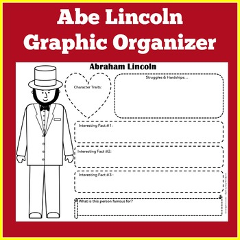 Abraham Lincoln Poster   Abraham Lincoln Biography   Abraham Lincoln Activity