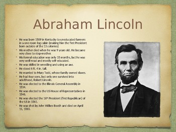 Abraham Lincoln PowerPoint