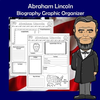 Abraham Lincoln President Biography Research Graphic Organizer