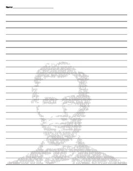 Abraham Lincoln - President's Day Lined Paper