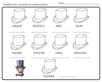 Abraham Lincoln President\u0027s Day, Worksheets, Morning Bell Work, Holiday Abraham's Tent Worksheet Abraham Worksheets #21
