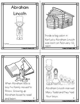Abraham Lincoln - Printable Story
