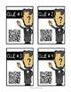 Abraham Lincoln: QR Code Scavenger Hunt & Research Lap Book with Flip Book