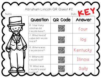 Abraham Lincoln QR Quest