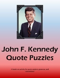 John F. Kennedy Quote Puzzles