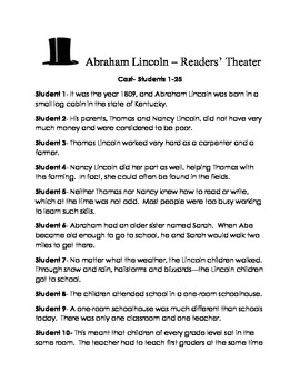 Abraham Lincoln Readers' Theater