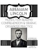 Abraham Lincoln Reading Comprehension & Graphic Organizer Pack {#TeacherMom}