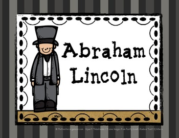 Abraham Lincoln- Reading Street, 2nd Grade, 2013