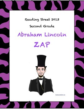 Abraham Lincoln Reading Street ZAP