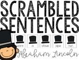 Abraham Lincoln Scrambled Sentences