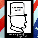 Abraham Lincoln Shape Book