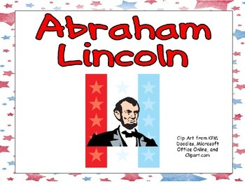 Abraham Lincoln- Shared Reading Kindergarten and First Grade- Presidents Day