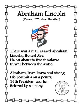 Abraham Lincoln Song
