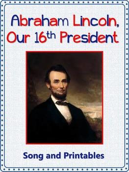 Presidents' Day Song/Abraham Lincoln Song: mp3, Lyrics Sheet,  Worksheets