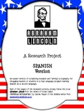 Abraham Lincoln Spanish Research: Sentence Stem and Cloze
