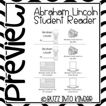 Abraham Lincoln Student Reader Book