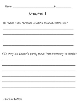 Abraham Lincoln Study Guide