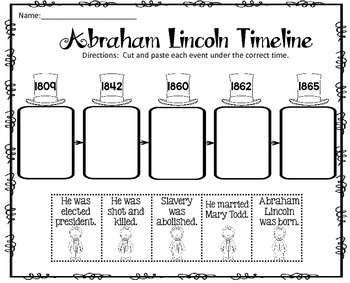 Abraham Lincoln by Teaching Second Grade | Teachers Pay Teachers