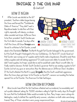 Abraham Lincoln Writing Prompt with Informational Texts CCSS.ELA-LITERACY.W.4.2