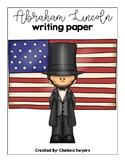 Abraham Lincoln Writing Sheets