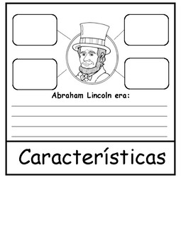 Abraham Lincoln and George Washington Spanish Flipbooks