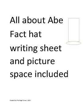 Abraham Lincoln fact sheet