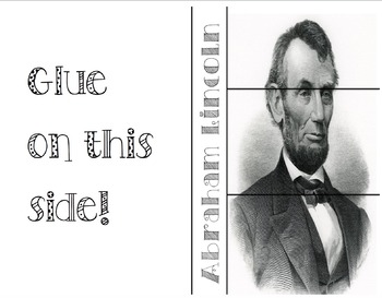 Abraham Lincoln foldable