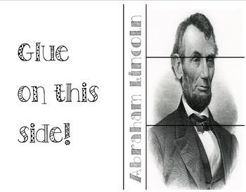 Abraham Lincoln foldable