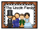Abraham Lincoln for Kindergartners & 1st Graders!