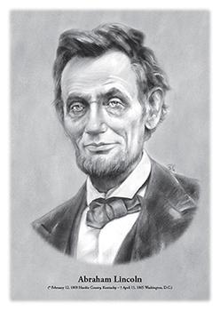 Abraham Lincoln - original illustration
