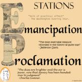 Emancipation Proclamation - Civil War - Stations
