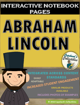 Abraham Lincoln's Interactive Notebook Pages