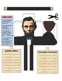 Abraham Lincoln's Emancipation Proclamation & Gettysburg Address 3D Foldable