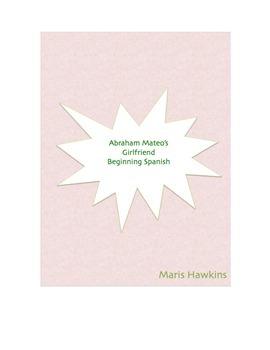 Abraham Mateo's Girlfriend: Spanish cloze activity