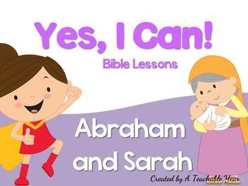 Abraham and Sarah- Bible Lesson