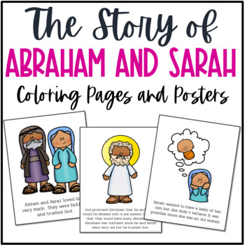 Lovable Abraham And Sarah Coloring Pages 24 | Abraham and sarah ... | 350x350