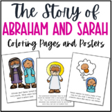 Abraham and Sarah Bible Story Coloring Pages and Posters |