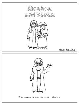 Abraham and Sarah Emergent Reader printable worksheets ...