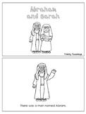 Abraham and Sarah Emergent Reader printable worksheets. Pr