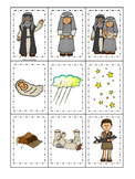 Abraham and Sarah Memory Match printable game. Preschool Bible Study Curriculum