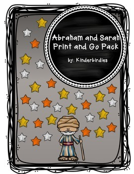 Abraham and Sarah Print and Go Pack