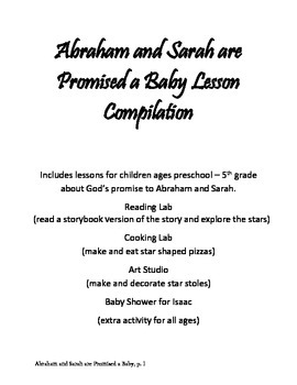 Abraham and Sarah are Promised a Baby Lesson Compilation