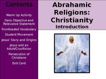 Abrahamic Religions - Introduction to Christianity