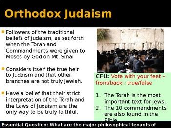 Abrahamic Religions - Judaism