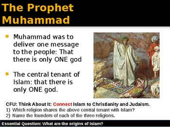 Abrahamic Religions - Rise and Spread of Islam