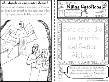 Abril 2017 Boletín de Niños Católicos
