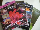 Abrir paso Libros 1, 2, 3 and 4 - Four years of culture! Interdisciplinary!