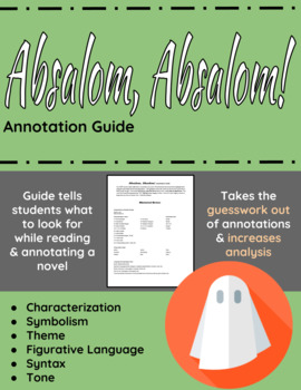 Absalom, Absalom! Annotation Guide