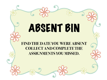 Absent Bin Cover
