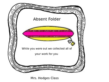 Absent Day Folder Surf Boards